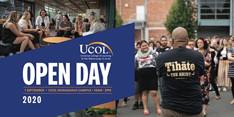 UCOL Whanganui Open Day tickets
