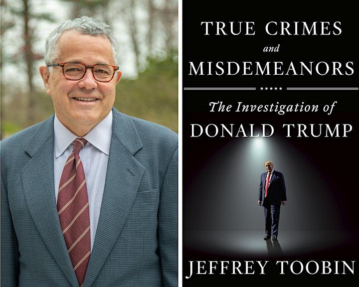 Jeffrey Toobin in Conversation with Scott Turow - Free image