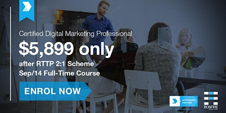 Certified Digital Marketing Professional (CDMP) Full-time Course - Sep 2020 tickets