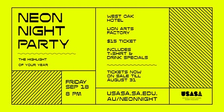 USASA Neon Night Party tickets