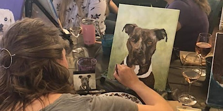 Paint your pet and Sip  at Methven Family Vineyard  Tasting Room tickets
