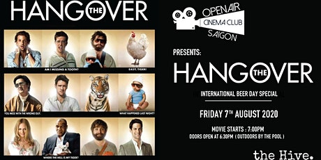 Open Air Cinema: The Hangover - Part 1 | International Beer Day Special tickets