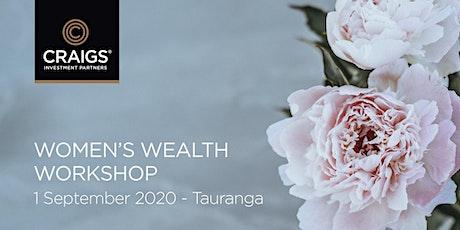 Women's Wealth Workshop - Tauranga tickets