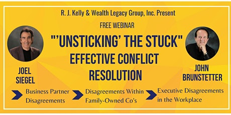 """""""'Unsticking' the Stuck"""" - Effective Conflict Resolution tickets"""