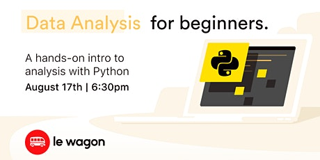 Data Analysis with Python: A hands-on introduction tickets