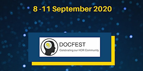 DocFest | Prospective Higher Degree by Research Student Event tickets