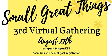 Bmore: Standing in Solidarity - August Virtual Gathering tickets