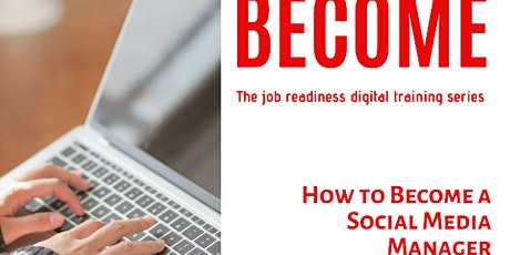 How To Become a Social Media Manager tickets