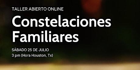 Taller abierto online de Constelaciones Familiares entradas
