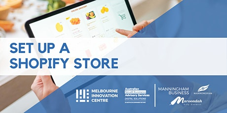 Set up a Shopify Store - Maroondah & Manningham tickets