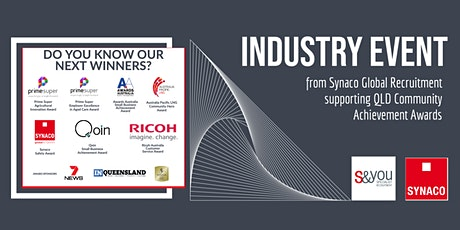 Industry Event- Synaco Global Recruitment Supporting QLD Achievement Awards tickets