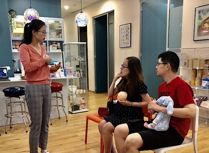 Pregnancy Care: Baby bathing, Massage, Settling image