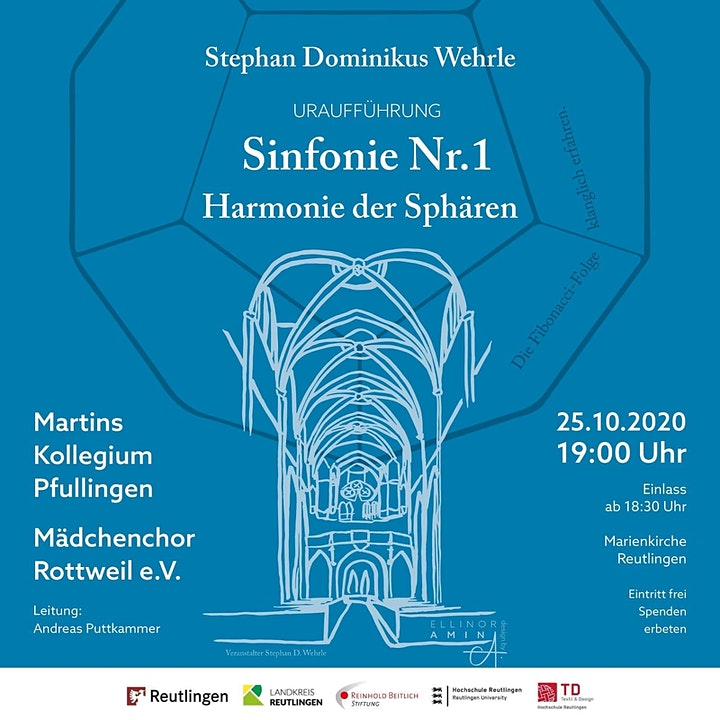 """Sinfonie Nr. 1 """"Harmonie der Sphären"""" – Stephan Dominikus Wehrle: Bild"""