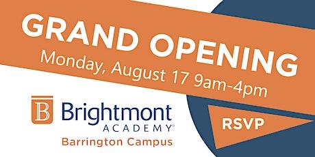 Brightmont Academy - Barrington Grand Opening tickets