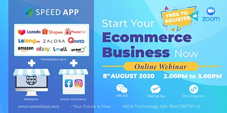 Start Your E-commerce  Business now  Online Webinar tickets