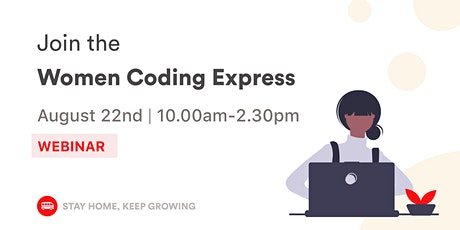 [WEBINAR] Women Coding Express ⚡️ tickets
