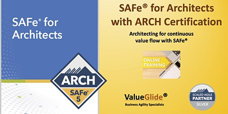 Online SAFe for Architects (ARCH) - 5.0 tickets
