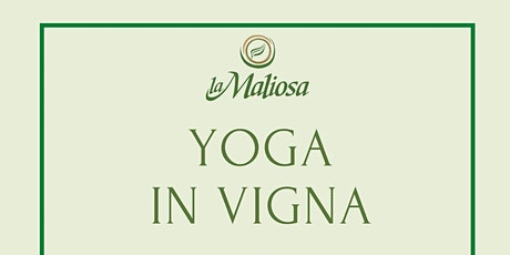Yoga in vigna tickets