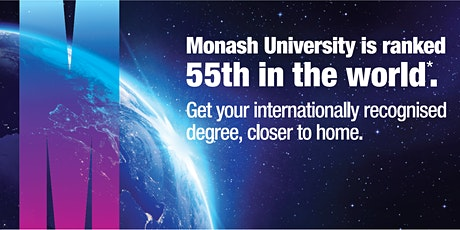 Monash Virtual Application Day & Postgraduate Preview tickets