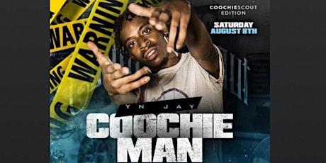 Yn Jay Coochie Man Live tickets
