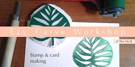 Ezy Carve Workshop tickets