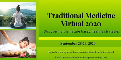 Traditional Medicine Virtual 2020 tickets