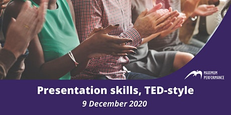 Presentation skills, TED-style (9 December 2020) tickets