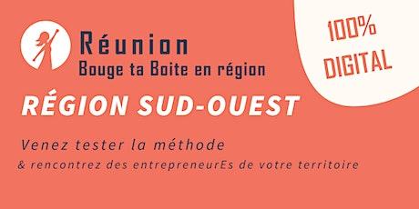 Région Sud-Ouest - Venez vivre la méthode Bouge ta Boite en digital ! billets