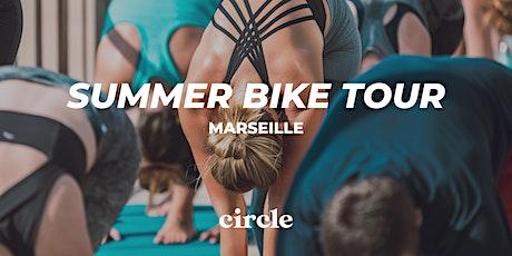 Yoga Ashtanga à Marseille - Yama Yoga x Circle Sportswear billets