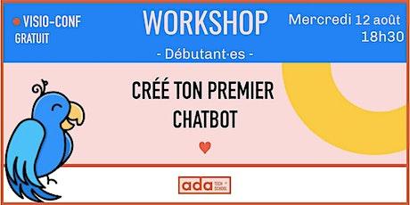 WORKSHOP : Code ton premier chatbot avec Clevy et Ada Tech School ! billets