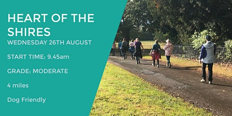 HEART OF THE SHIRES DAYTIME WALK | 4 MILES | MODERATE | NORTHANTS tickets