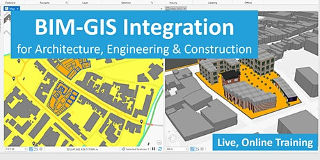BIM-GIS Integration for Architecture, Engineering & Construction (Aug 2020) tickets
