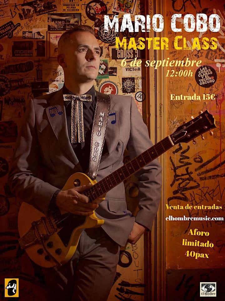 Imagen de MARIO COBO en Albacete - Conferencia / Master Class