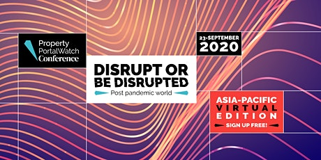 Property Portal Watch Conference APAC 2020 - Virtual Edition tickets
