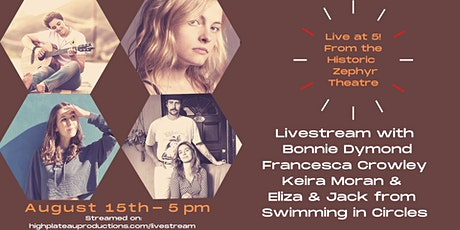 LiveStream from the Historic Zephyr Theatre with LA Singer-Songwriters tickets