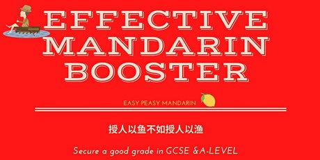 Effective Mandarin Booster (Ages 11-18) tickets