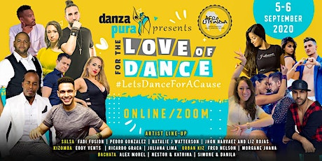 Danza Pura -For the Love of Dance( Online Event ) tickets