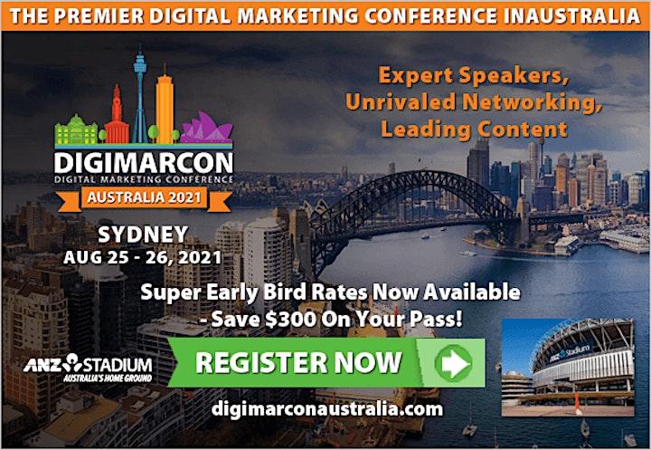 DigiMarCon Australia 2021 - Digital Marketing Conference & Exhibition image
