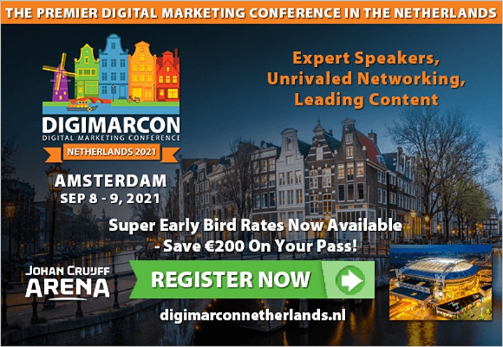 DigiMarCon Netherlands 2022 - Digital Marketing Conference & Exhibition image