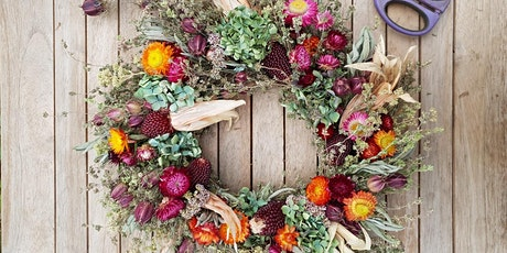 Autumn Wreath Making Workshop tickets