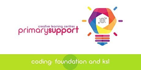 CLC NI - Coding at Foundation & Key Stage 1 tickets