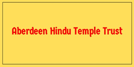 Aberdeen Hindu Temple Darshan tickets