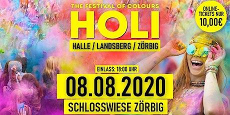 HOLI Festival Halle-Landsberg-Zörbig   08.08.2020   Schlosswiese Zörbig Tickets