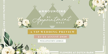 A VIP 'REAL' WEDDING PREVIEW tickets