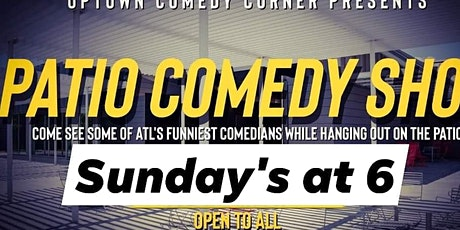 Sunday's at 6 .. Comedy on the PATIO.. At Greenlight at UPTOWN tickets