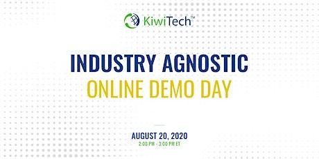 KiwiTech's Online Demo Day - Industry Agnostic boletos
