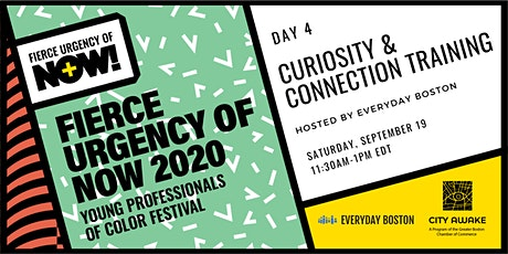 Curiosity & Connection Story Share– Fierce Urgency of Now! tickets