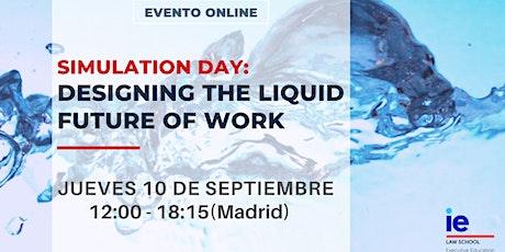 Simulation Day: Designing the liquid future of work boletos