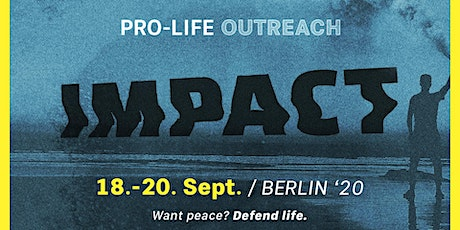 Impact Outreach 2020 Berlin Tickets