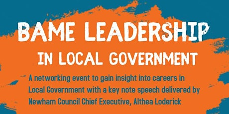 BAME Leadership in Local Government tickets